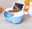 lovely multi-function fruit tray phone holder for lazy bone