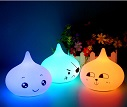 silicone night lamp rechargeable