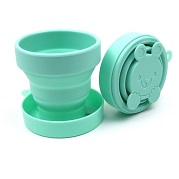 silicone collapsible silicone drink cup